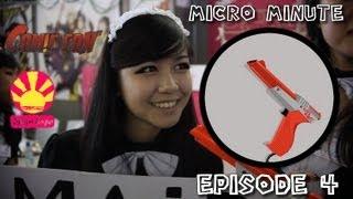 Micro Minute Ep. 04 (Comic Con'/Japan Expo 2012)