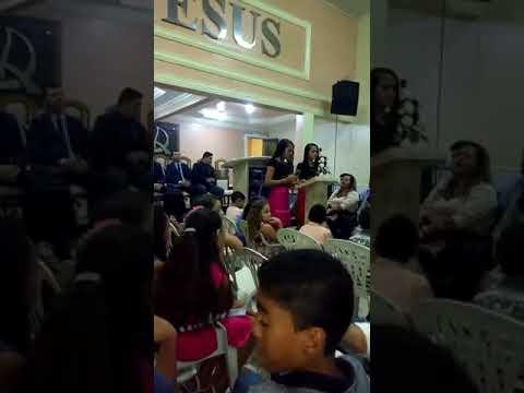 #TBT LOUVANDO A DEUS NA ASSEMBLÉIA DE DEUS EM BARRO ALTO