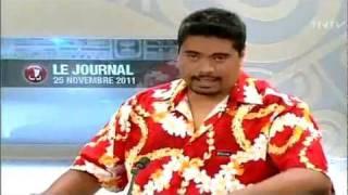 Il pête les plombs au JT de TNTV