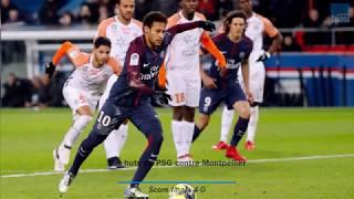 Les buts de Paris-Montpellier (4-0)