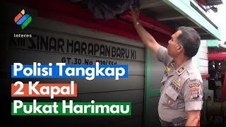 Polisi Tangkap 2 Kapal Pukat Harimau