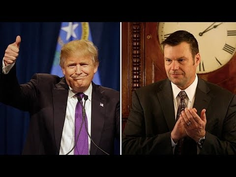 Kris Kobach's Gubernatorial Campaign Hires White Nationalists