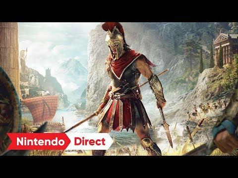アサシン クリード オデッセイ - CLOUD VERSION [Nintendo Direct 2018.9.14]