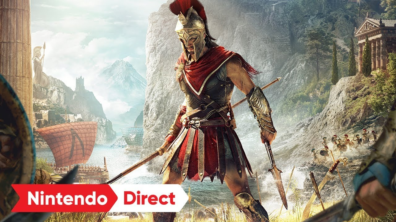 Assassin S Creed Odyssey Is Coming To Nintendo Switch But With A