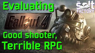 Evaluating Fallout 4- Aฑ analysis on the game's story, mechanics and structure