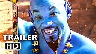 ALADDIN Trailer Brasileiro LEGENDADO # 3 (Novo, 2019) Will Smith