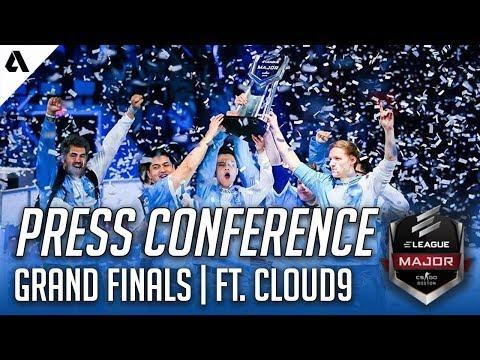 CS:GO | Cloud9 Grand Finals Press Conference | ELEAGUE Boston Major 2018