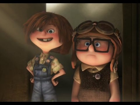 Carl And Ellie 's Love Story (Can't Help Falling In Love)