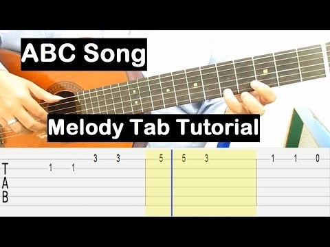 abc-song-guitar-lesson-melody-tab-tutorial-guitar-lessons-for-beginners