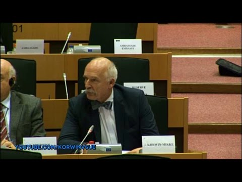 Janusz Korwin-Mikke on Committee on Foreign Affairs - the situation in Kosovo