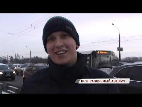 Подробности ДТП с неуправляемым автобусом на Московском проспекте