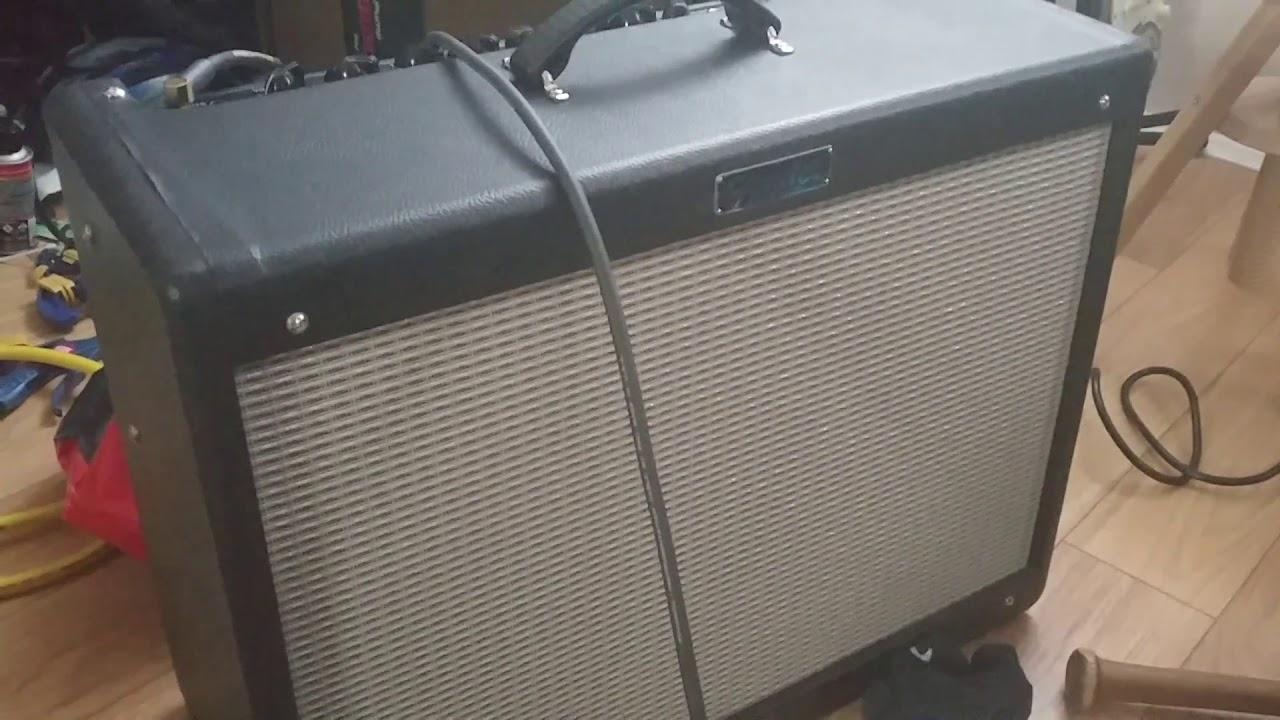 Fender Hot Rod Deluxe 3 Crackling Issue