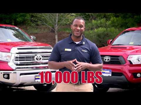 Toyota Tundra vs Toyota Tacoma - YouTube