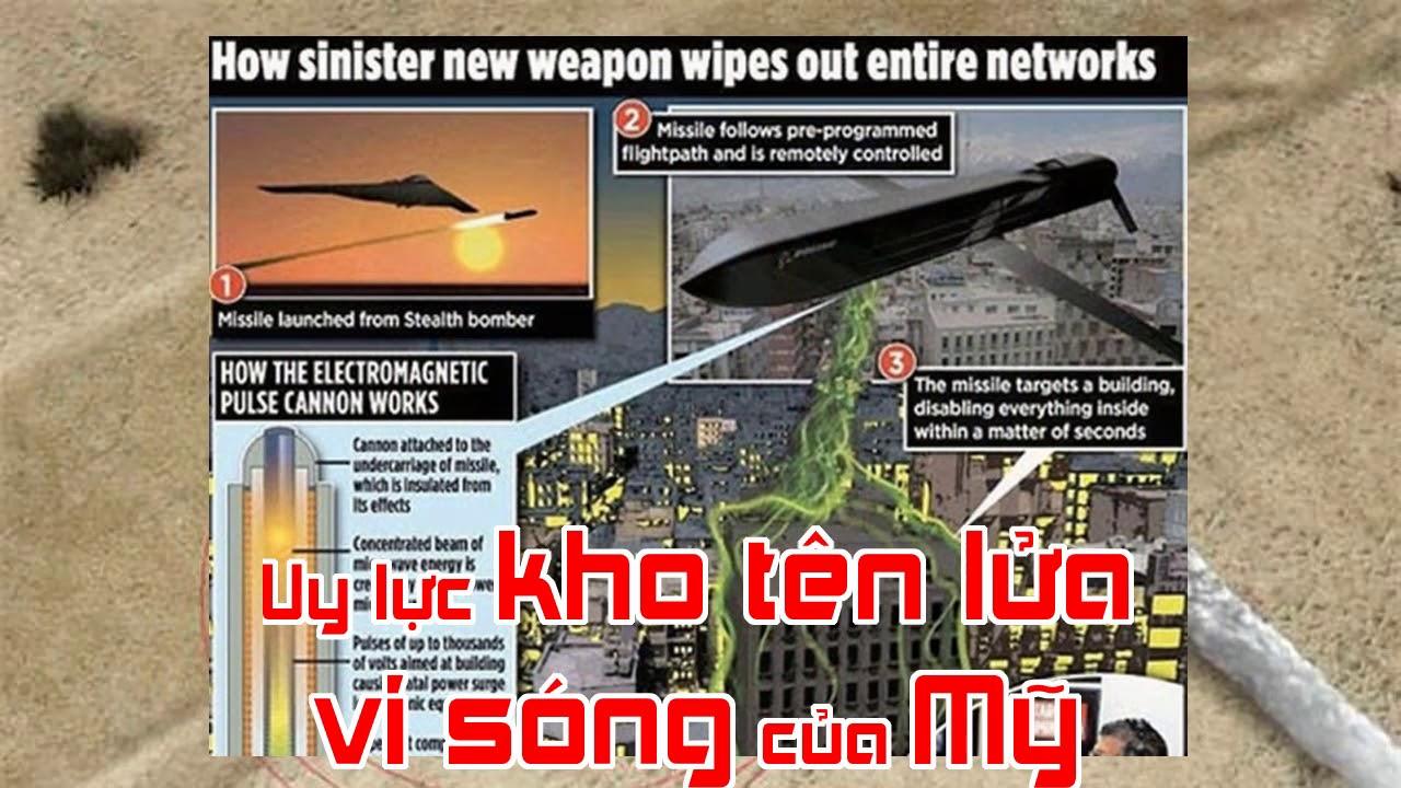 Uy lực kho tên lửa vi sóng của Mỹ