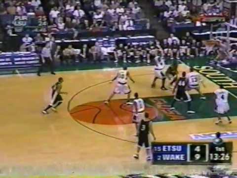 ETSU vs Wake Forest - 2003 NCAA Tournament - Pt 2