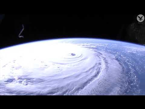 Hurricane Florence: Timelapse of storm from space as it approaches east coast