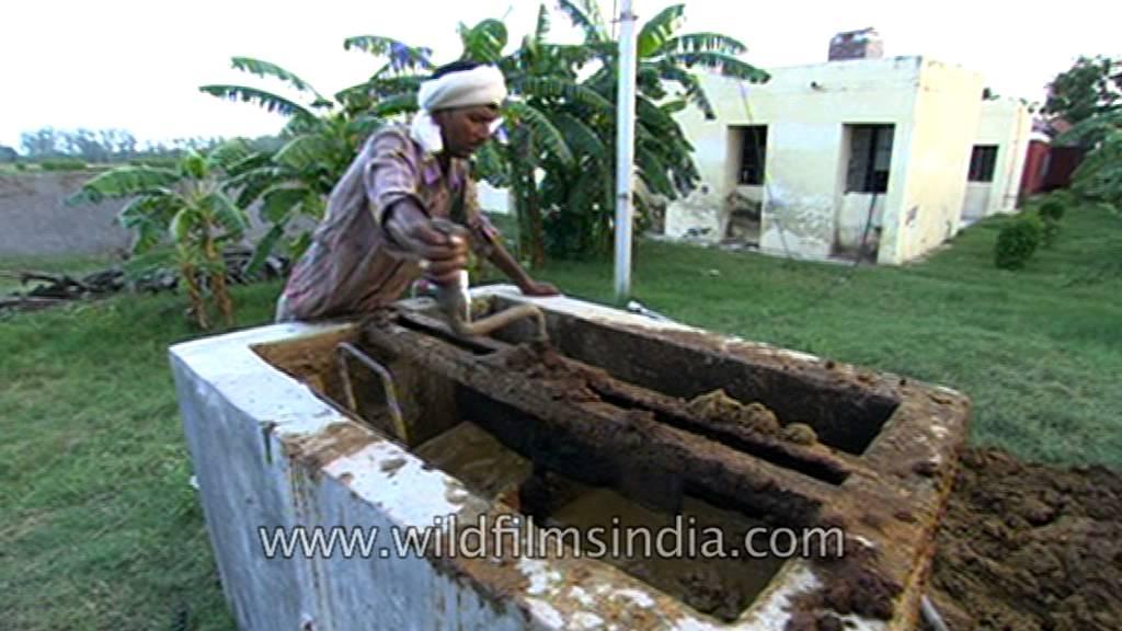 Bio gas plant in India