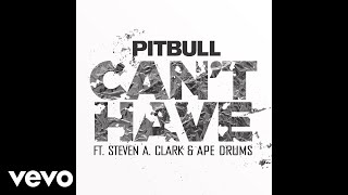 Pitbull - Can't Have (Audio) ft. Steven A. Clark, Ape Drums