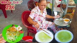 Món lạ Bánh Cuốn Lá Dứa, Bánh Cuốn Trứng hiếm thấy ở Sài Gòn