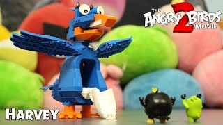 Angry Birds Harvey Construction Set | The Angry Birds Movie 2 Toys Unboxing