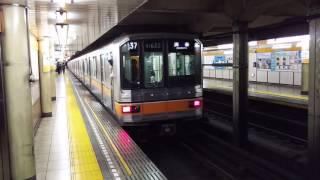 東京メトロ銀座線01系 新型1000系 末広町駅