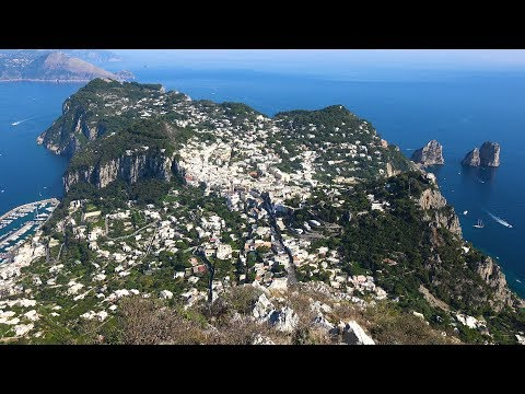 Island of Capri, Italy in 4K Ultra HD