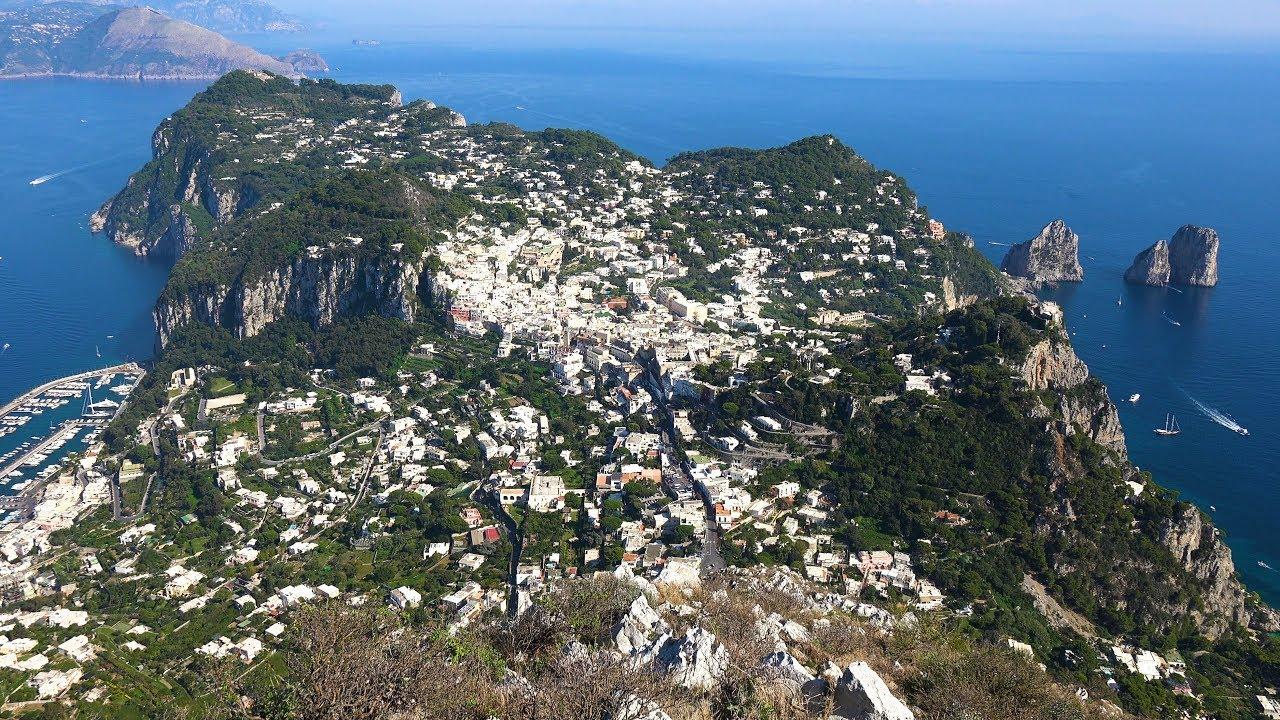 Island Of Capri Italy In 4k Ultra Hd Youtube