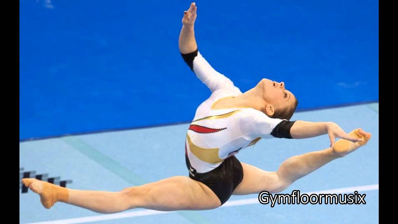 Gymnastic Floor Music Neon Lights  Demi Lovato