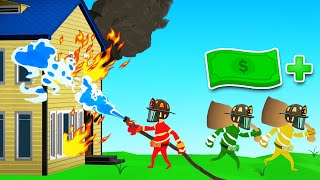 FIRE FIGHTING Simulator BUT We STEAL STUFF! (Embr)