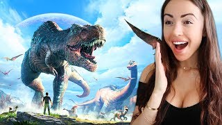 A WHOLE NEW WORLD! - Ark Survival Evolved (Episode 2)