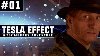Tesla Effect: A Tex Murphy Adventure | Blind PC Gameplay | #01