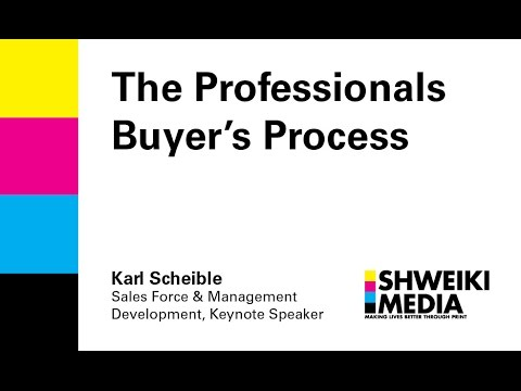 The Professional Buyer's Process