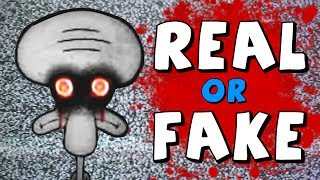 Mystery of Squidward's Suicide - Real or Fake?