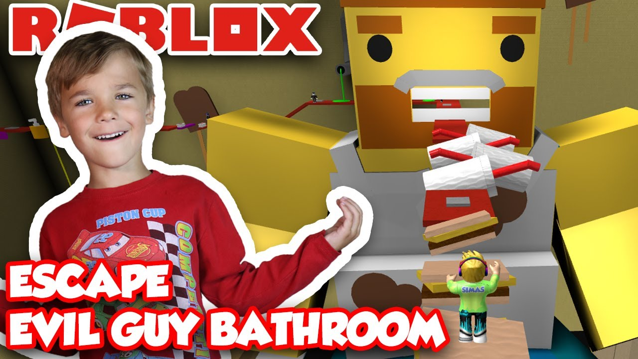 Escape The Bathroom Obby how to escape the evil guy bathroom obby ?!? | roblox - youtube