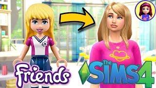 Lego Friends Stephanie as a Sim! Sims 4 Create a Sim