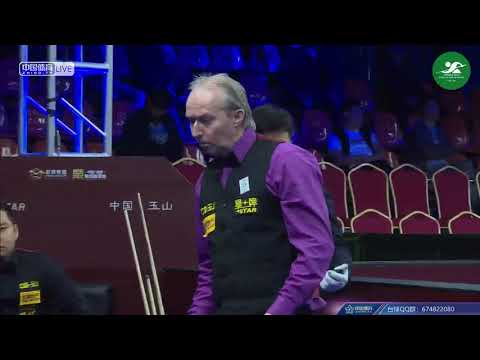 Gareth Hibbott (GBR) VS Shi Hanqing (CHN) - Mens L32 - 2018 Chinese Pool World Championship