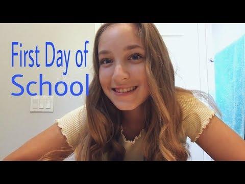 grwm first day of school | Katie Brooke