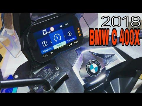 2018 Bmw C 400 X Midsize Scooter With Bmw Motorrad Connectivity