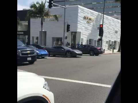 Super cars in Beverly Hills California