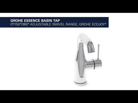 Grohe essence stylish and functional basin faucet youtube for Grohe armatur küche