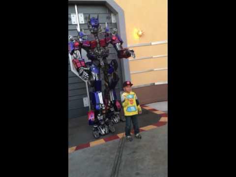 Interactive Transformers at Universal Studios Hollywood