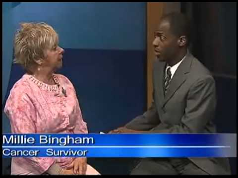 Cancer survivor Millie Bingham inspires others on Daybreak interview with Anthony Pittman
