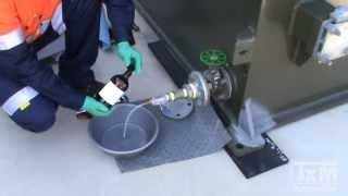 transformer oil sampling training part 2 bottle sample
