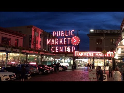 Seattle Living Vlog: Great Wheel, Pike Place Market, Gum Wall Sept 14-28, 2017