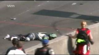 Francorchamps 2008 bike accident