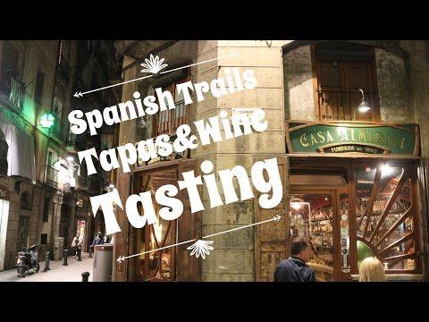 Barcelona Tapas & Wine Tasting Tour   Barselona'da Lokal Deneyim, Spanish Trails Tapas Gurme Turu!