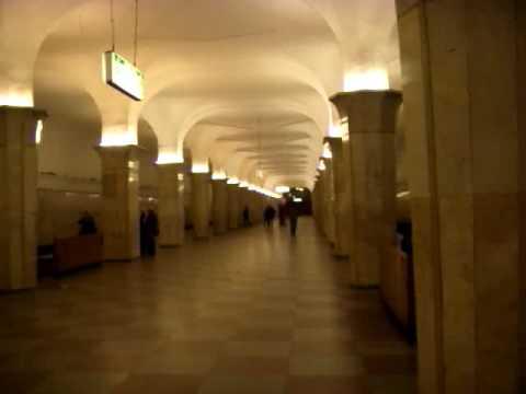 Moscow Metro : Kropotkinskaya Кропоткинская