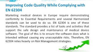 Embedded Software in Medical Device : Common Regulatory and Quality pitfalls