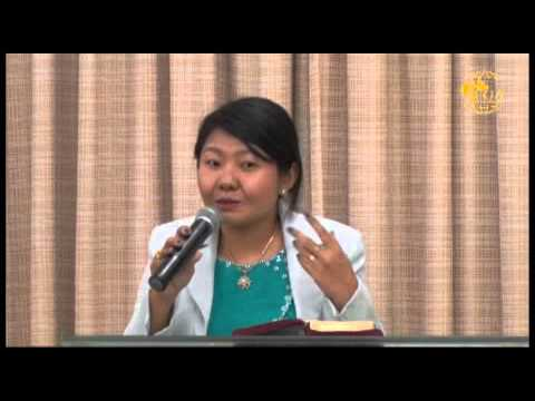 Rev. Roija preaching  @ FGA Myanmar, May 24, 2015.