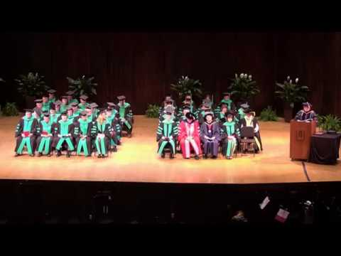 2017 Ohio State College of Optometry Convocation